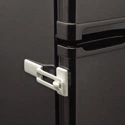 parent units fridge guard refrigerator lock white