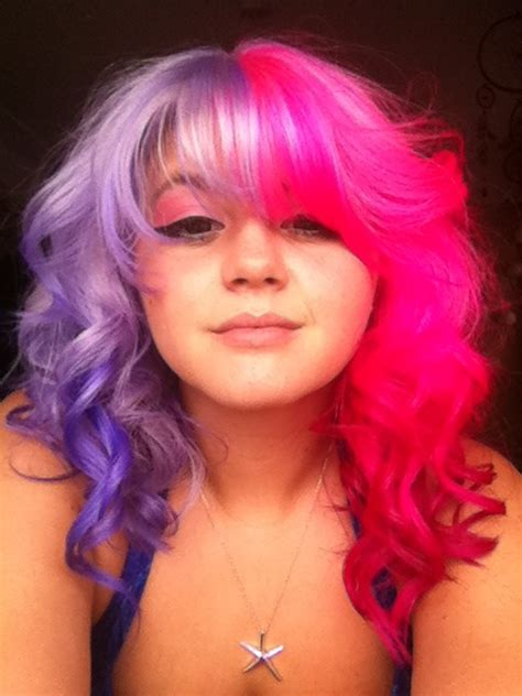 Hair By Hevencide Half Hair Pastel Pink Lilac