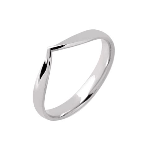 wishbone wedding ring platinum image wedding ring