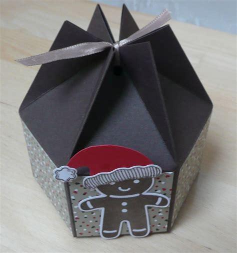 sechseckige schachtel falten kleine sechseckige box mit anleitung zum nachbasteln