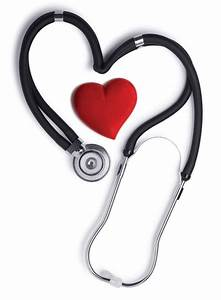 Photo of stethoscope and heart - News on Heart.org
