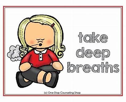 Clipart Deep Breaths Breathe Calming Calm Down