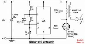 Electric Fence Circuit Diagram 12v  Electric Fence Design