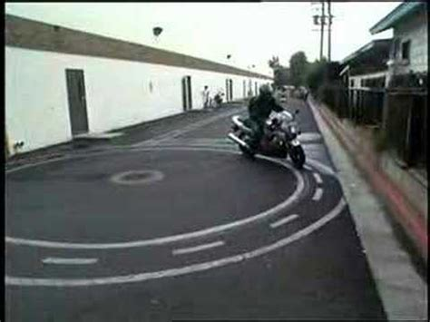 Motorcycle Skills Tests #1  Intro And Course Layout Youtube