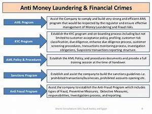 shams consultations services With anti money laundering compliance program template