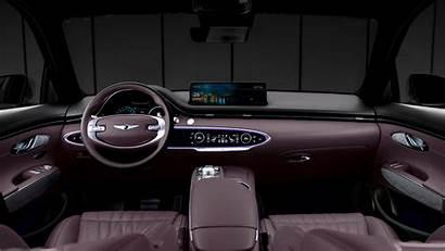 Genesis Interior 2021 Gv70 5k
