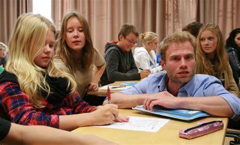 finland puts bar high  teachers kids