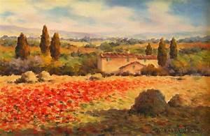 Tuscan Countryside Wallpaper Desktop - WallpaperSafari