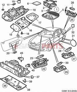 Saab 93 Interior Parts