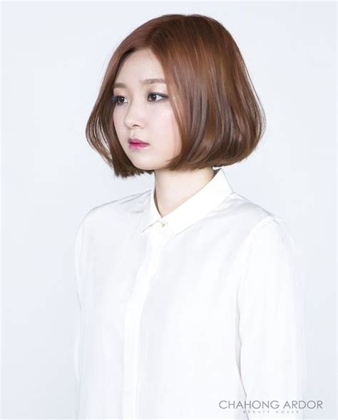 image of new hair style fan bob style 팬 보브 스타일 hair style by chahong ardor hair 4544