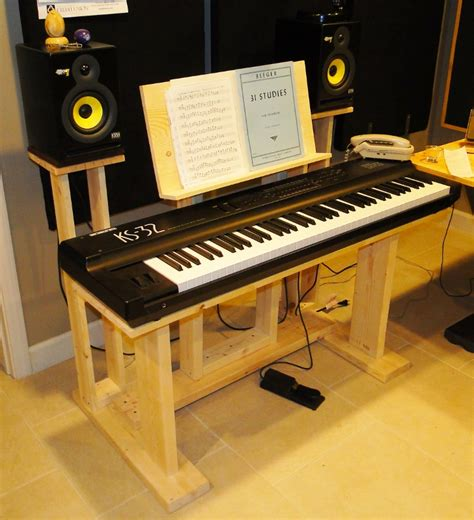 Studio Rta Producer Desk by Recording Studio Stuff Diy Keyboard Desk Stand