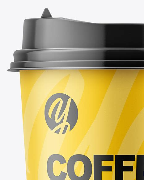 Surprise potential customers with your creativity. Matte Coffee Cup Mockup - Front View in Cup & Bowl Mockups ...