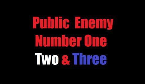 public enemy number     dr rich swier