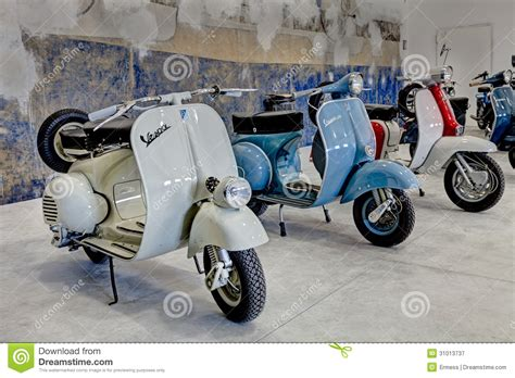 Lambretta Image by Vintage Scooters Vespa And Lambretta Editorial Photography