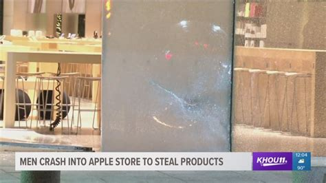 loot stolen  highland village apple store inoperable