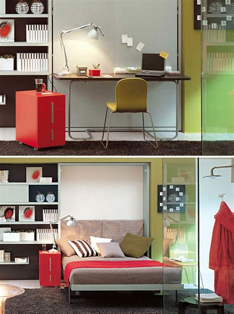 Ikea Wall Bed Desk by 10 Murphy Beds That Maximize Small Spaces Brit Co
