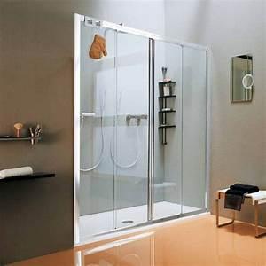 porte de douche coulissante new cee 140 a 175 cm With porte de douche coulissante avec traitement parquet salle de bain