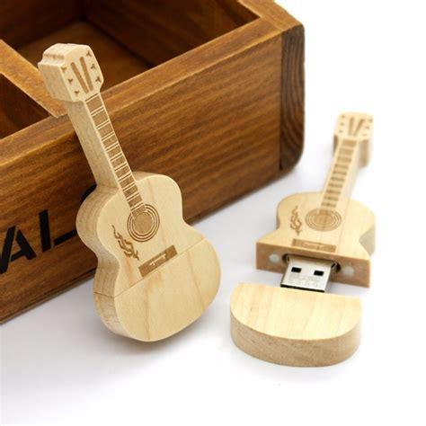wooden guitar usb flash drive fun guitar