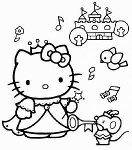 Gratis Hello Kitty Kleurplaten Page 16