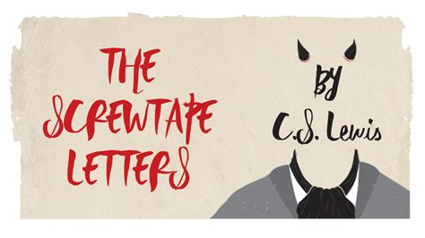 screwtape letters quotes the screwtape letters seymour centre 12032