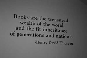 Transcendentali... Thoreau Book Quotes
