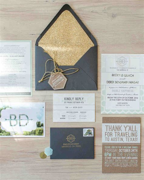 4 steps for creating your wedding invitation stationery