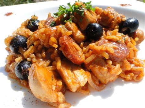cuisine espagnol poulet au riz à l 39 espagnole cuisine sauté