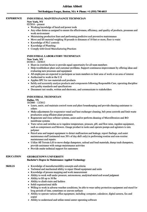 Technician Resume by Floor Technician Description For Resume Floor