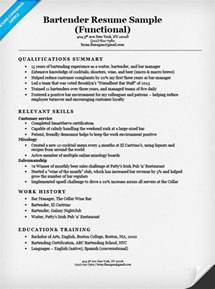 exle of a functional resume functional resume exles writing guide resume companion