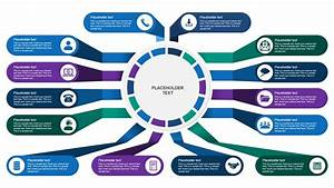 Multiple Inputs Infographic Process Powerpoint Templates