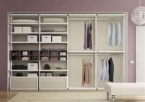 Prix Dressing Sur Mesure : dressing sur mesure avec tiroirs push pull moretti ~ Premium-room.com Idées de Décoration