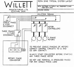 Wiring A 30 Hp Phase Convertor