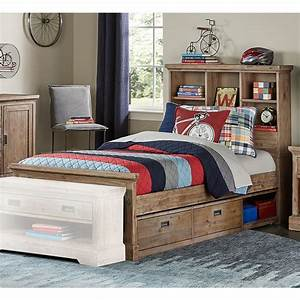 Hillsdale, Kids, -, Oxford, Bookcase, Twin, Bed, With, Storage