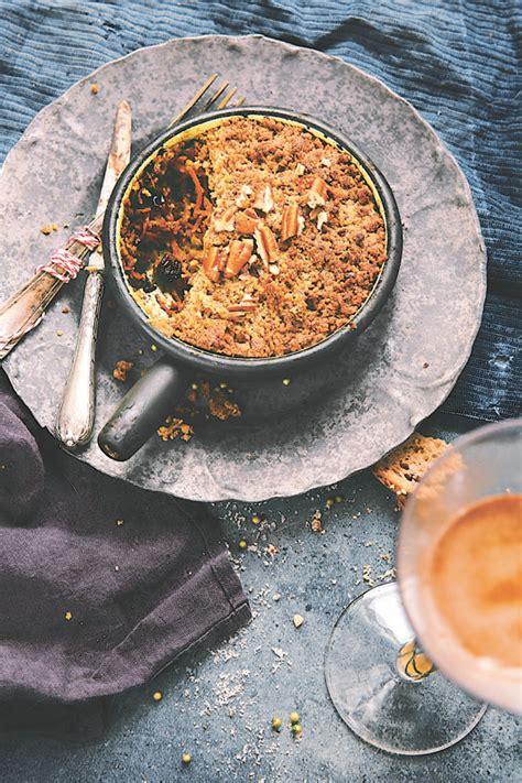 comment cuisiner le soja crumble salé aux légumes d hiver et noix de pécan 1 2 3