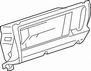 2001 Volkswagen Jetta Wagon Glove Box Assembly  Glove Box