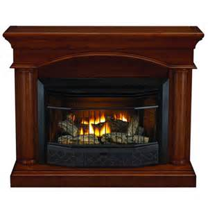 compact vent free gas fireplace with mantel fireplaces