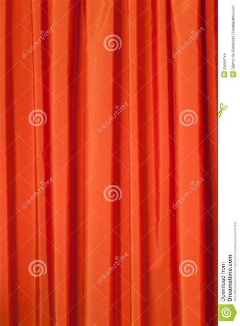 orange curtains royalty  stock images image