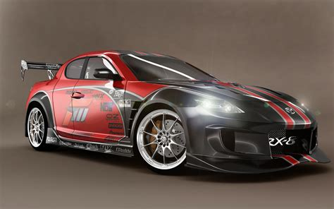 Mazda Rx8 Race Car Hd Wallpapers