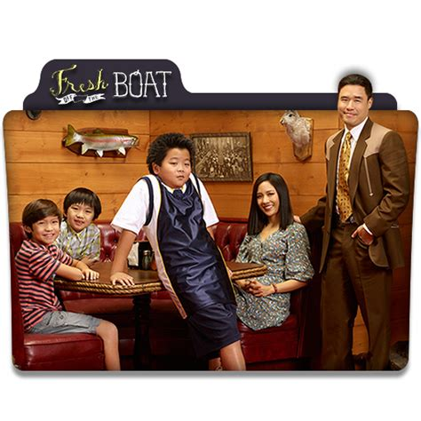 Fresh Off The Boat Watch Series by Fresh Off The Boat Tv Series Folder Icon V2 By Dyiddo On