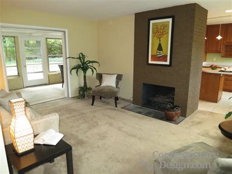 Paint Colors Living Room Brick Fireplace by Best Color To Paint Brick Fireplace