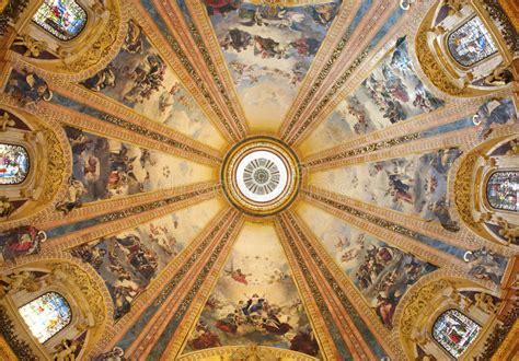 la cupola reggio emilia reggio emilia italy april 12 2018 the painting of