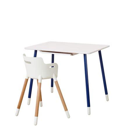 Flexa Schreibtisch Weiß by Flexa Classic Schreibtisch In Wei 223 Blau 82 50089 2 210