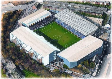 Hillsborough in Art, home of Sheffield Wednesday F.C ...