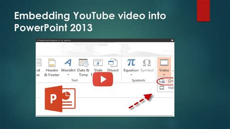 embed  youtube video   powerpoint youtube