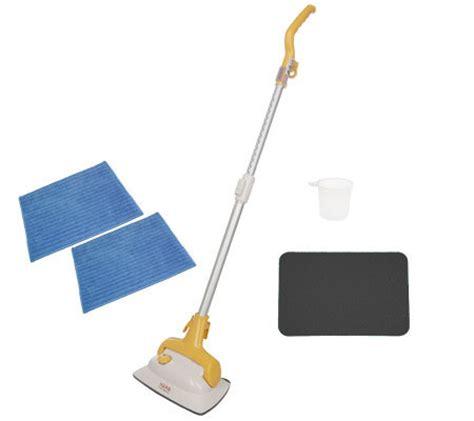 haan floor sanitizer pads haan floor steam cleaner and sanitizer w 2 microfiber