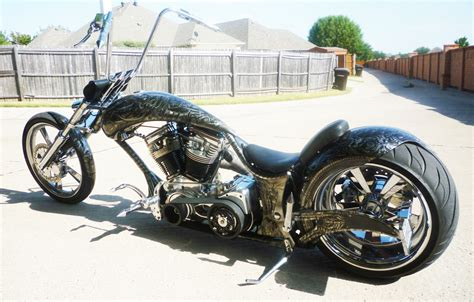 Airbrushed Biomechanics Custom Motorcycle Paint Theme