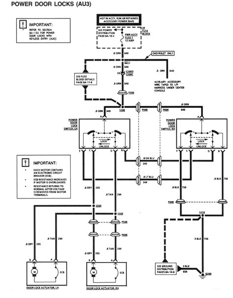 Power Lock Wiring Diagram Chevy by 1994 Power Door Lock Schematic Can Someone