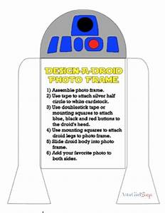 r2 d2 star wars party favors craft atta girl says With r2d2 printable template