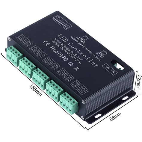Channel Rgb Dmx Led Controller Decoder Dimmer