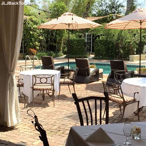 patio cafe naples fl vlog classic fashion 40 poolside lunch at hotel